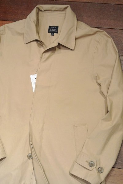 画像2: J.CREW (Jクルー) Thompson water-resistant trench coat ステンカラーコート【Beige/ S】新品 並行輸入