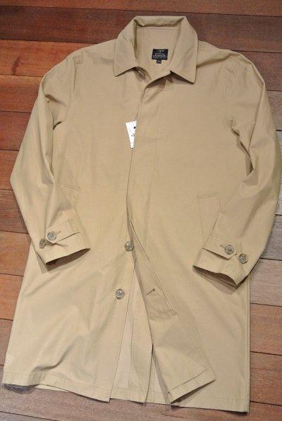 画像1: J.CREW (Jクルー) Thompson water-resistant trench coat ステンカラーコート【Beige/ S】新品 並行輸入
