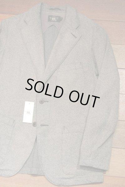 画像1: RRL ダブルアールエル コットンジャスペ 霜降り スポーツコート 【S】 新品 並行輸入 $590  (1)