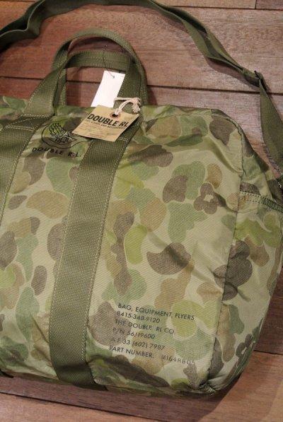 画像1: RRLナイロン キット カモ ダッフルバッグ Packable Flyer Duffle Bag【CAMO】新品 定価46440