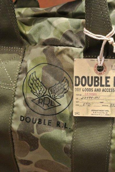 画像3: RRLナイロン キット カモ ダッフルバッグ Packable Flyer Duffle Bag【CAMO】新品 定価46440
