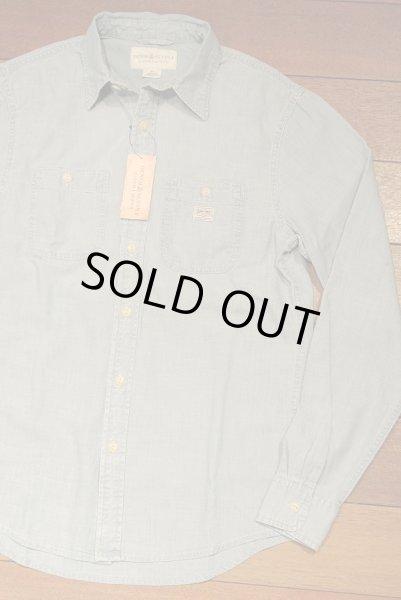 画像1: DENIM&SUPPLY デニム&サプライ ラルフローレン シャンブレー ワークシャツ  (S,M) 新品 並行輸入  (1)