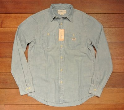画像2: DENIM&SUPPLY デニム&サプライ ラルフローレン シャンブレー ワークシャツ  (S,M) 新品 並行輸入
