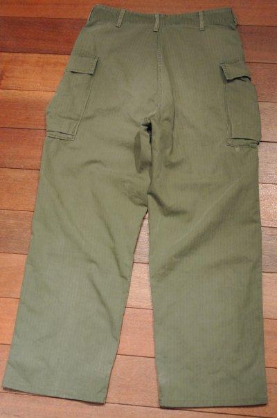 画像3: 【Vintage/Used】40's  U.S ARMY M-43 HBT Pants ヘリンボーンツイルパンツ 【W32】