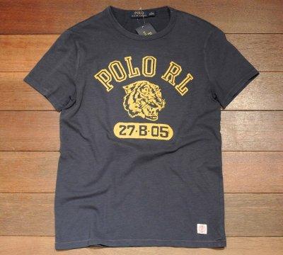 画像3: 【クリックポスト170円も可】ポロラルフローレン フロッキープリント Tシャツ  (Navy / S) 新品 並行輸入