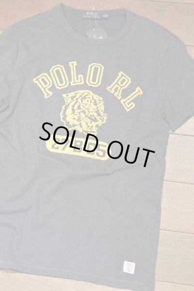 画像1: 【クリックポスト170円も可】ポロラルフローレン フロッキープリント Tシャツ  (Navy / S) 新品 並行輸入  (1)