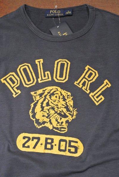 画像2: 【クリックポスト170円も可】ポロラルフローレン フロッキープリント Tシャツ  (Navy / S) 新品 並行輸入