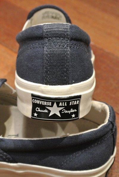 画像3: CONVERSE DECK STAR 67 スリッポン (Navy / US9 ) コンバース 日本未発売 新品