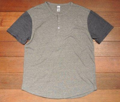 画像3: 【クリックポスト170円も可】ALTERNATIVE ヘンリーネック Tシャツ  (M) 新品