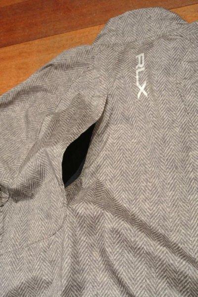 画像3: RLX Ralphlauren GOLF ナイロン プルオーバーシャツ  ヘリンボーンツイードプリント (M) $275 新品 並行輸入