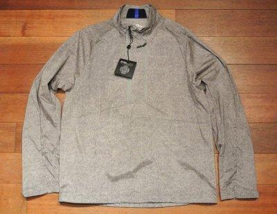 画像2: RLX Ralphlauren GOLF ナイロン プルオーバーシャツ  ヘリンボーンツイードプリント (M) $275 新品 並行輸入