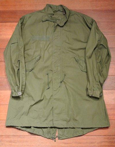 画像1: 【Good used】1974年 U.S ARMY M-65 Field Parka COAT モッズコート 【MEDIUM-REGULER】