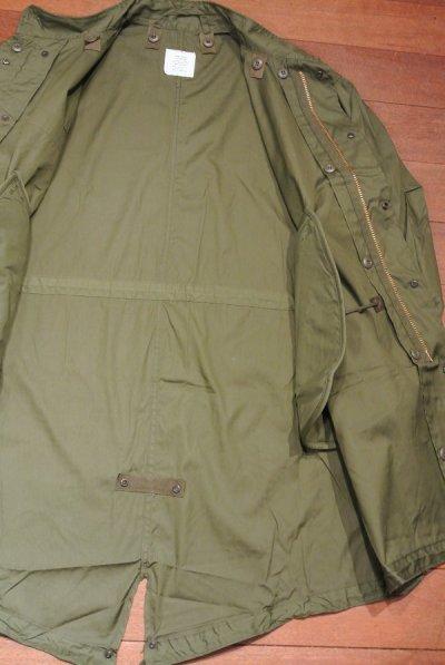 画像3: 1972年デッドストック U.S ARMY M-65 Field Parka COAT モッズコート 【SMALL-REGULER】