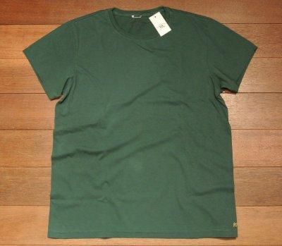 画像2: 【クリックポスト170円も可】RRL TUBE T-Shirts チューブTシャツ【グリーン, S/L/XL】$65 新品 並行輸入
