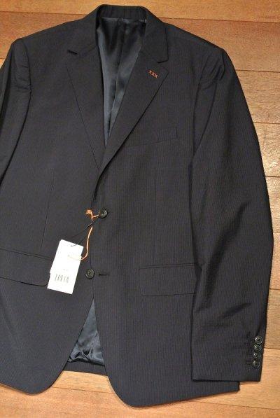 画像1: JACK SPADE(ジャックスペード) ウール+コットン テイラードジャケット WOOL BENTON JKT ( Navy / 40R ) 70000円 新品 並行輸入