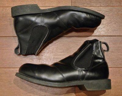 画像2: 【Good Used】U.S NAVY  Molders Shoes U.S ネイビー サイドゴアブーツ 【9R】