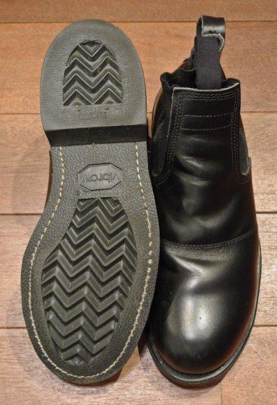 画像3: 【Good Used】U.S NAVY  Molders Shoes U.S ネイビー サイドゴアブーツ 【9R】