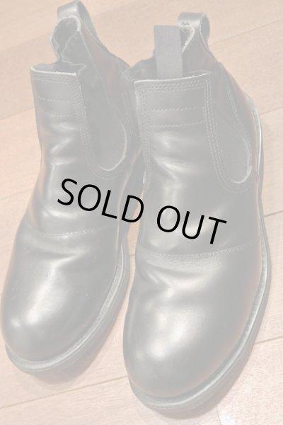画像1: 【Good Used】U.S NAVY  Molders Shoes U.S ネイビー サイドゴアブーツ 【9R】 (1)