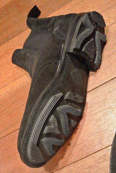 画像3: 【SALE!!】ポロラルフローレン スウェード ウイングチップ サイドゴアブーツ Bench made in England イングランド製【 Black , 9 1/2-E 】新品 並行輸入 箱無し クロケット&ジョーンズ