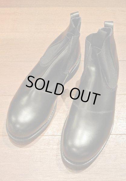 画像1: 2005年 Deadstock デッドストック U.S NAVY Molders Shoes USネイビー サイドゴアブーツ (9 XW) 箱無し (1)