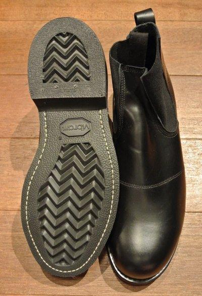 画像3: 2005年 Deadstock デッドストック U.S NAVY Molders Shoes USネイビー サイドゴアブーツ (9 XW) 箱無し