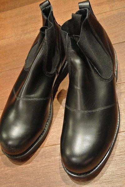 画像2: 2005年 Deadstock デッドストック U.S NAVY Molders Shoes USネイビー サイドゴアブーツ (9 XW) 箱無し