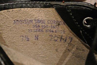 画像3: 60年代製 デッドストック  U.S NAVY 6INCH BOOTS スティールトゥワークブーツ 【 7 1/2-N 】 ADDISON SHOE CORPORATION 社製