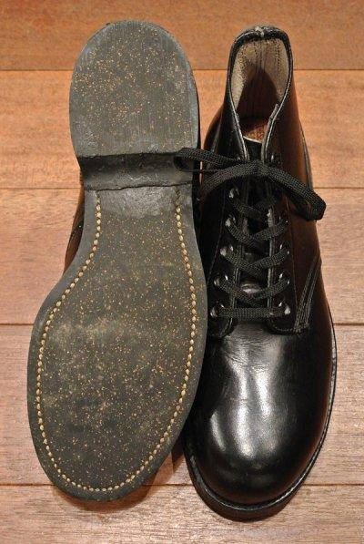 画像2: 60年代製 デッドストック  U.S NAVY 6INCH BOOTS スティールトゥワークブーツ 【 7 1/2-N 】 ADDISON SHOE CORPORATION 社製