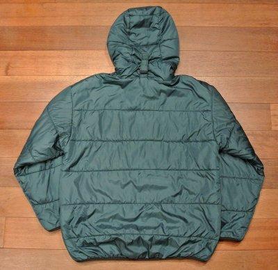 画像3: 【VTG/USED】90s L.L Bean ハーフジップ プリマロフトジャケット Made in USA【Green/M】アメリカ製 中古