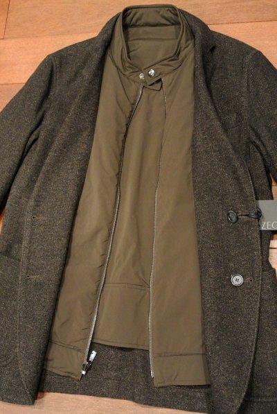 画像3: 【SALE,】新品 Z-ZEGNA ジーゼニア リバーシブルジャケット【Brown,48/50】日本未発売 エルメネジルド・ゼニア 定価$1145