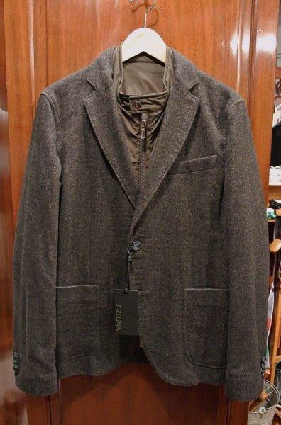 画像1: 【SALE】新品 Z-ZEGNA ジーゼニア リバーシブルジャケット【Brown,50】日本未発売 エルメネジルド・ゼニア 定価$1145  (1)