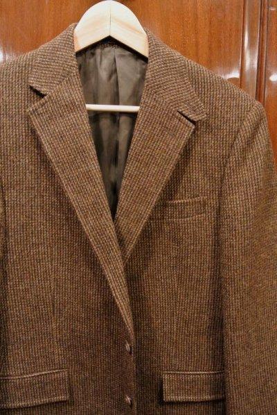 画像1: ポロラルフローレン ツイード テイラードジャケット【Brown/40-R】新品
