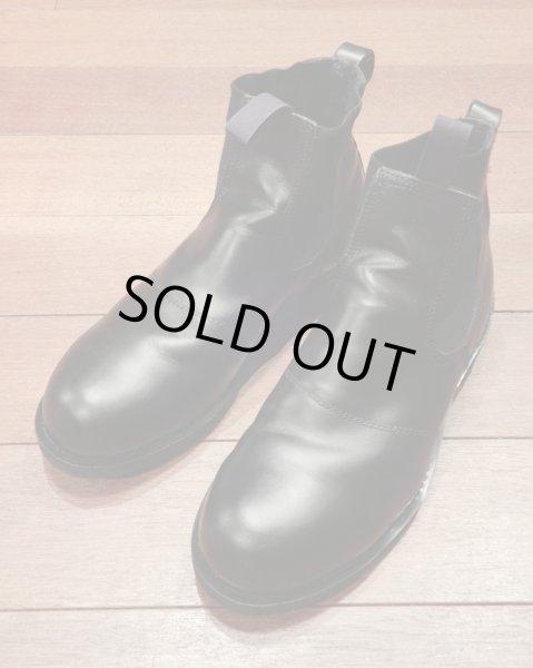 画像1: 【EXCELLENT USED】U.S NAVY Molders Shoes USネイビー サイドゴアブーツ (9 D) (1)