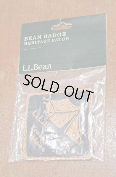 画像1: 【クリックポスト188円も可】L.L BEAN ワッペン (Tent) 7.5×7.5cm  ビーンブーツ アメリカ製 (1)