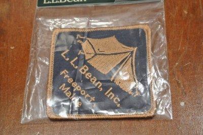 画像2: 【クリックポスト188円も可】L.L BEAN ワッペン (Tent) 7.5×7.5cm  ビーンブーツ アメリカ製