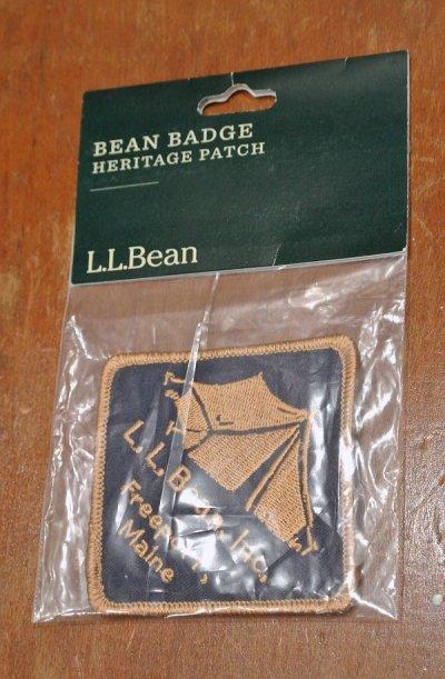 画像1: 【クリックポスト188円も可】L.L BEAN ワッペン (Tent) 7.5×7.5cm  ビーンブーツ アメリカ製
