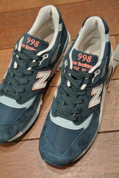 画像1: NEW BALANCE 998 Made in USA 【GREEN, ウィメンズ10, 27cm 】ニューバランス アメリカ製 新品 箱無し