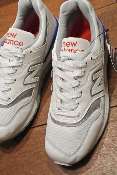 画像1: NEW BALANCE 997  Made in USA 【WHITE, 6 1/2-D(24.5cm) 】ニューバランス アメリカ製 新品 箱無し
