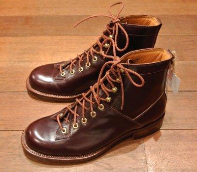 画像3: デッドストック WOLVERINE コードバン ブーツ【BROWN/US8.5/JPN26.5】1000MILE BOOTS