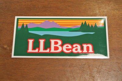 画像2: 【クリックポスト170円も可】L.L BEAN ビンテージロゴステッカー 17.8×8.4cm