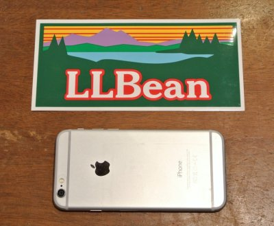 画像3: 【クリックポスト170円も可】L.L BEAN ビンテージロゴステッカー 17.8×8.4cm