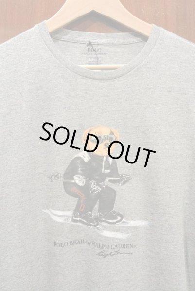 画像1: 【クリックポスト198円も可】ポロラルフローレン ポロベアー Tシャツ SKI【Gray/L】新品 並行輸入 (1)