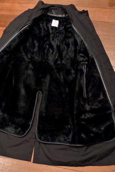 画像3: 1984年製 デッドストック US NAVY ALL WEATHER COAT ステンカラーコート 【Black / 34-R】