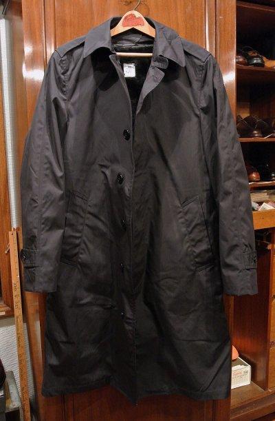 画像1: 1987年製 デッドストック US NAVY ALL WEATHER COAT ステンカラーコート 【Blue / 36-R】