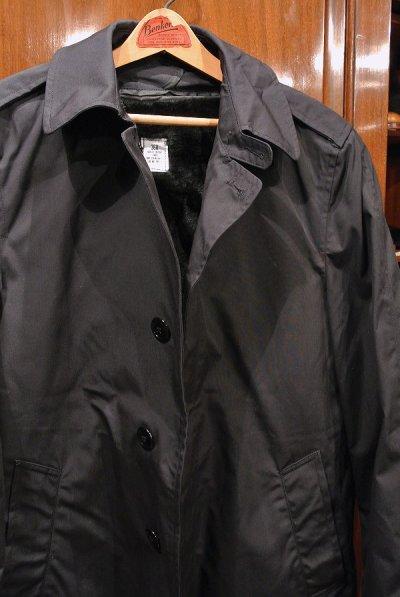 画像2: 1987年製 デッドストック US NAVY ALL WEATHER COAT ステンカラーコート 【Blue / 36-R】