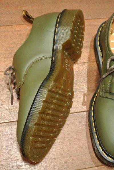 画像3: 新品 エンジニアドガーメンツ×ドクターマーチン イングランド製 プレーントゥ (Khaki/US10) Engineered Garments×Dr.Martens