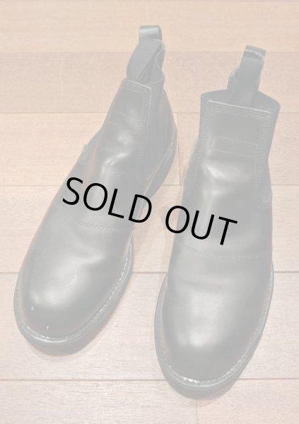 画像1: 2000年 Deadstock デッドストック U.S NAVY Molders Shoes USネイビー サイドゴアブーツ (9R)箱なし  (1)