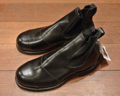 画像2: 2005年 Deadstock デッドストック U.S NAVY Molders Shoes USネイビー サイドゴアブーツ (7R) 箱なし
