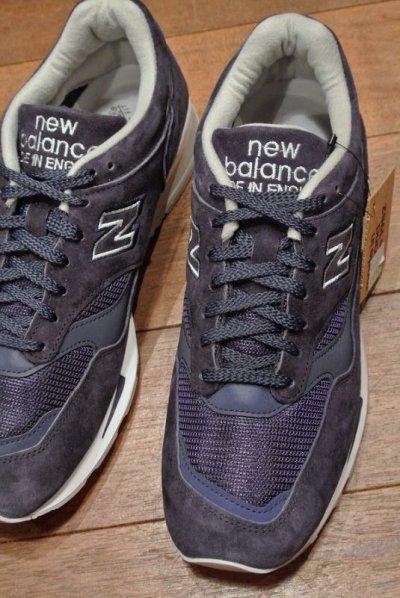 画像2: NEW BALANCE 1500 Made in ENGLAND 【NAVY, 9.5-D, 27.5cm】ニューバランス1500 イングランド製 新品 箱入り