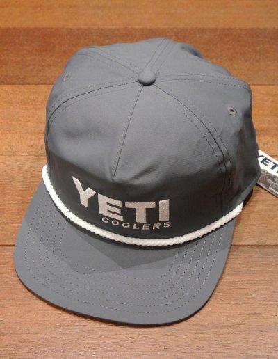 画像2: 【クリックポスト198円も可】日本未発売 YETI COOLERS TRACKER CAP イエティ キャップ (GRAY) クーラーボックス